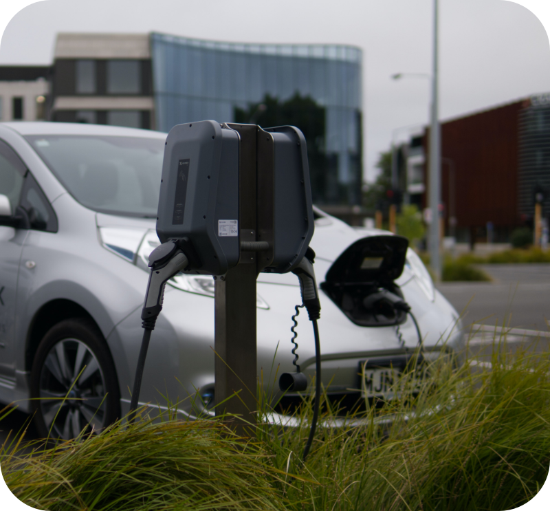 EV Charger commercial installation